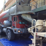 Nothing Beats A Ready Mix Concrete Delivery In The Fall In NY