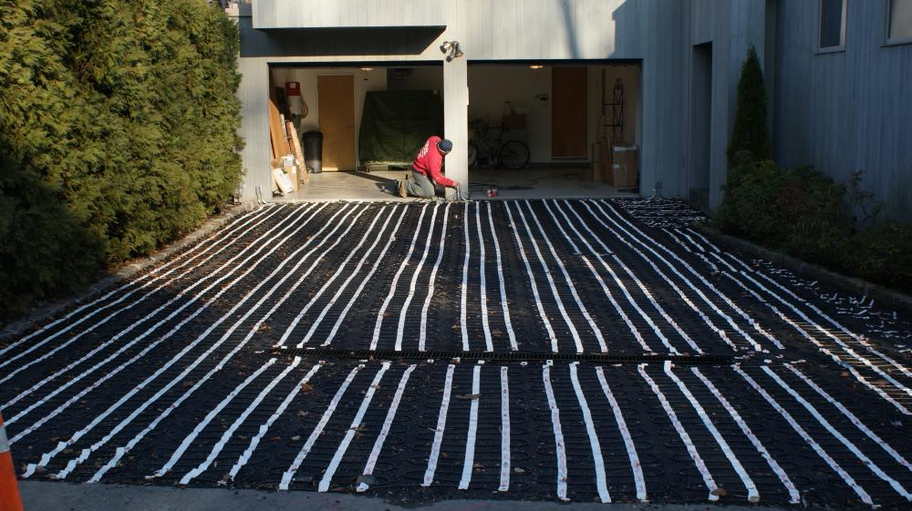 Concrete Delivered In Scarsdale NY For A Radiant Heat Slab In Basement