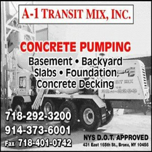 Commercial Concrete Delivery In Westchester Made Easy With A1Transit Mix