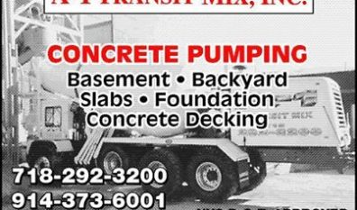 Concrete Delivery In The Bronx With A1 Transit Mix