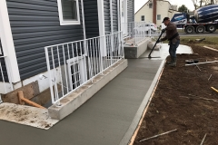 Bronx Concrete Delivery For A Walkway Or Foundation Walls!
